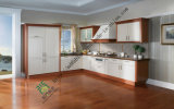 Solid Wood Kitchen Cabinet for Europe&American (zs-384)