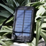 10000mAh Portable Rugged Shockproof Dual USB Solar Battery Charger