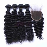 Water Wave Malaysian Virgin Natural Color Human Hair Bundles