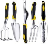 5PCS Yellow Garden Tools for Family Planting