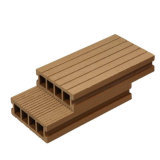 WPC Decking Prices Hollow and Grooved Wood Plastic Composite Flooring
