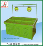 Metal Fruit and Vegetable Display Fixture for Chain Store