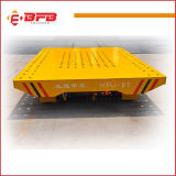 20t Pharmaceutical Plant Electric Flat Car for Transfer on Rails