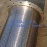 18/25/50mesh Wedge Wire Stainer Used in Water Treatment Equipment