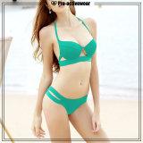 OEM Customize Women Gilr Breathable Swimauit Bikini