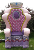 Princess Inflatable PVC Kings Chair model for Party event