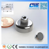 Strong N40 D19.05xh13mm High Quality NdFeB Potn08 Magnet