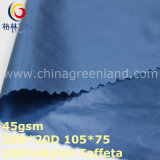 Coating Plain Nylon Taffeta Fabric for Textile Blouse (GLLML323)