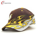 Cool Flame Embroidered Racing Cap Baseball Cap (09008)