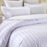 Cotton Striped Pattern Hotel Bed Sheet Duvet Cover Hotel Bedding Set