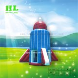 Rocket Style Inflatable Airspace Adventure Sport Games as Kids Toy