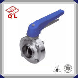 Stainless Steel Hygiene Grades Manual Welded Butterfly Valve