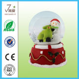 Polyresin Christmas Home Decoration Water Snow Globe