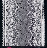 Europe Standard High Color Fastness Stretch Lace (HM7005)