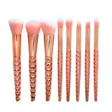 Wholesale 8 PCS Rose Gold Makeup Brushes in Stock