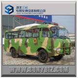 23 Seats 140HP Dongfeng 4x4 off-Road Bus