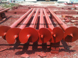 Helical Screw Anchor and Brackets for Construction