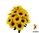 Artificial/Plastic/Silk Flower Sunflower Bush (2724018)
