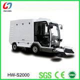 All Closed Driving Type Road Sweeper Cleaning Machine