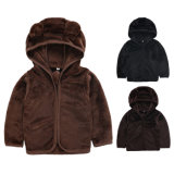 Wholesale Autumn Winter Kids Girls Thick Cheap Hooded Cashmere Teddy Bear Jacket