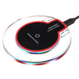 [Kingmaster]Qi Wireless Charging Kit for iPhone 5/5s/6/6s/7 Plus, Thin Receiver Charging Pad