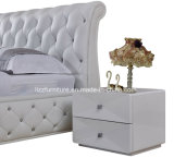 American Design Modular Bedroom Leather King-Size Bed