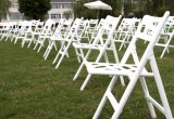 New Product Plastic Outdoor Garden Home Folding Chair for Wedding