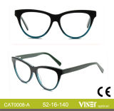 China Custom Design Eyeglass Frame Optical Frame Cat0008-a