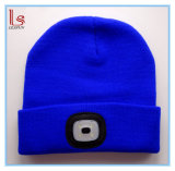 Wholesale Custom Outdoor Sport Winter Knitting Warm LED Flash Beanie Hats