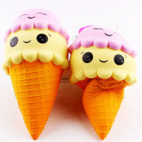 Lovely Colorful Double Cream Muffins Ice Cream Educational Squishy Toy