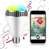 RGB Bulb Colorful Lamp Bluetooth Speaker LED Music Lamp for Home, Stage