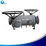 API 6D Double Block and Bleed Trunnion Ball Valve