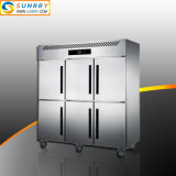 Commercial Stainless Steel Kitchen Refrigerated Cabinet for Hotel