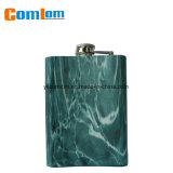 CL1C-HE-1D Comlom Stainless Steel Texture Retro Fashionable Whisky Hip Flask