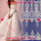 New Design Embroidery Design White Lace Fabric for Dress
