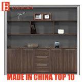 Wood Flat File Cabinet Mobile Filing Bookcase