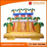 2018 Commercial Jungle Palm Tree Inflatable Slide (T4-100)