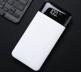 Super Slim 10000mAh Portable ABS Power Bank with LED Display