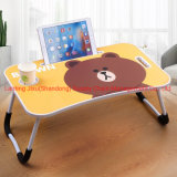 Hot Sale Wooden Foldable Sofa Adjustable Folding Laptop Table for Beds and Sofa