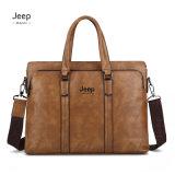 New Fashion Men Leather Computer Briefcase Shoulder Bag Business Bag