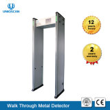 Uniqscan Hot 33 Zones Walk Through Metal Detector with CCTV Camera and DVR (128G)