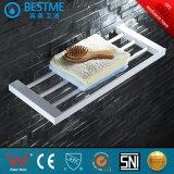 Bathroom 304 Stainless Steel White Color Towel Bar Bm851003W