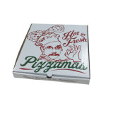 Wholesale White Color Printing Pizza Box for Restaurant