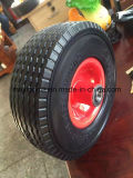 650-8 Maxtop Rubber Flat Free PU Foam Wheel