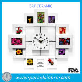 Home Decroation Stylish Clock Photo Frame