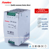 120W LED Electrical 24V 5A DIN Rail Power Supply Switch