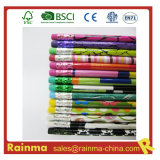 Nice Design Hb Pencil with Colouring Eraser Top
