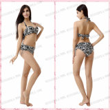 Miss Adola Hot Hot Flower Printed Bikini Digging Rope Swimsuit Ladies' and Girls Wear (M105)