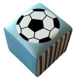 Football Pattern Children Products/Square Chair/Stool (SXBB-142)