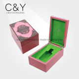 Custom Lacquered MDF Wood Packaging Box for Essential Oil with TUV
